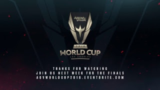 Arena of Valor World Cup Day 5