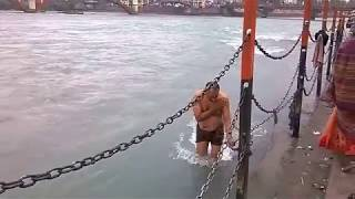 Open Bath in Ganga gaath