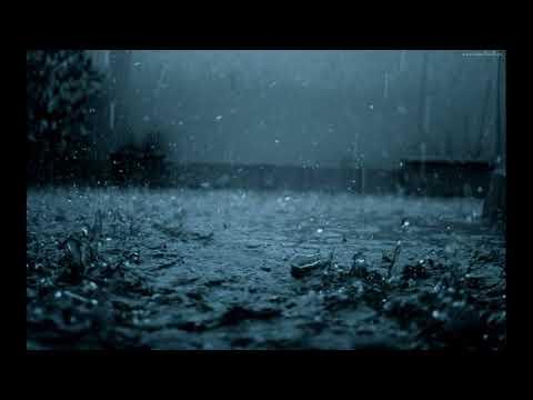 Usypiająca Muzyka - Padający Deszcz , Burza - The Rain Storm Relaxing Music