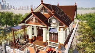 Mẫu Nhà Cấp 4 Đẹp 3 Phòng Ngủ 130m2 Giá 600 Triệu Tại Phan Thiết Bình Thuận