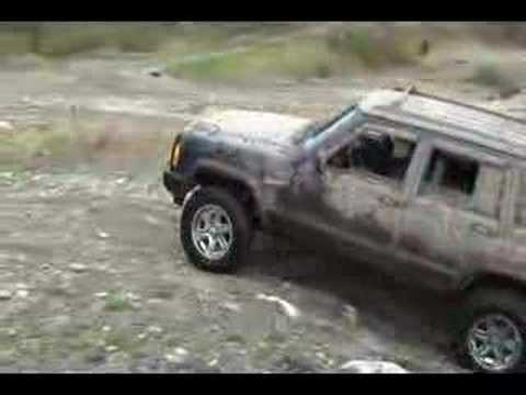 Jeep XJ Offroading in the Mines Video