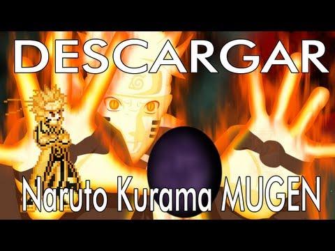 Descargar char Naruto Kurama MUGEN