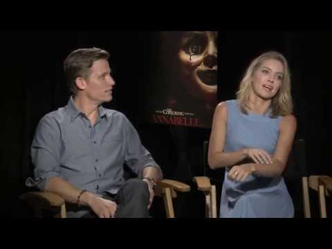 Annabelle Wallis and Ward Horton - Annabelle - Interview