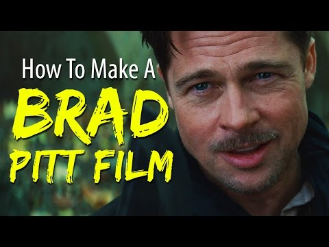 How To Make A BRAD PITT Film In 4 Minutes Or Less