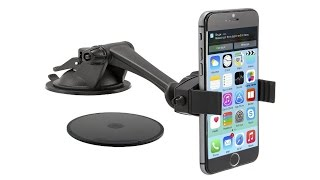 Review:  Arkon Windshield or Dash Smartphone Car Mount for Apple iPhone 6 Plus