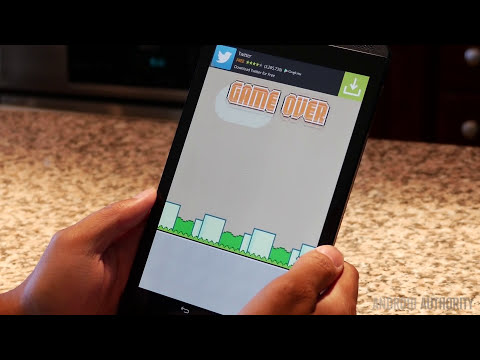 Android Authority Plays Swing Copters