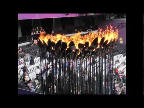 Olympic Cauldron - BBC radio Cambs Copper Petal interview with Contour Autocraft