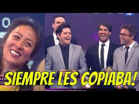 COPIONES!! CATHY SAENZ CONFIESA QUE EEG LE COPIABA A COMBATE!!    COMBATE 22-12-17
