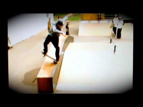 Dan MacFarlane 2005 skateboarding session at Lake Owen Woodward