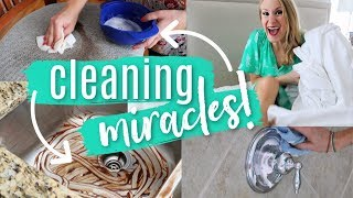 5 MUST-SEE MIRACLE CLEANING HACKS!  ✨ (so satisfying!)