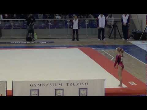Bailie Key (USA) Jesolo 2012 - FX - 2nd place JR, 14.250