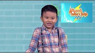 Minh Khang dí dỏm đối đáp cùng mẹ   Nhanh Như Chớp phiên bản Nhí tuyển sinh