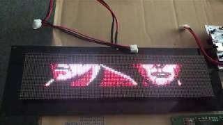 PIN2DMD Color LED on a Data East Star Trek with 128x16 DMD