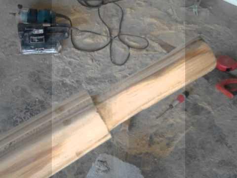 comment faire un fusil sous marin en bois youtube. Black Bedroom Furniture Sets. Home Design Ideas