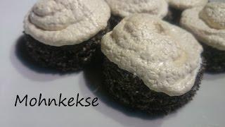 Für Mohn Liebhaber!!! Mohn Keks Rezept / Weihnachtskekse