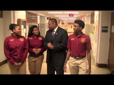 Thornton Township High School District 205 Office Jefferson Awards 2014