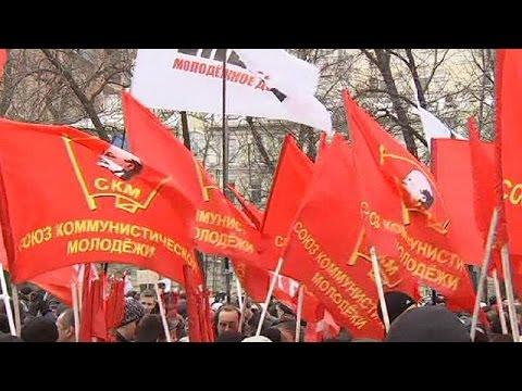 مسيرة في موسكو إحتجاجا على تغييرات في قطاعي الصحة والتعليم