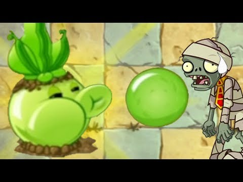 Plants vs. Zombies 2 - Every plant Power-Up! Music Videos