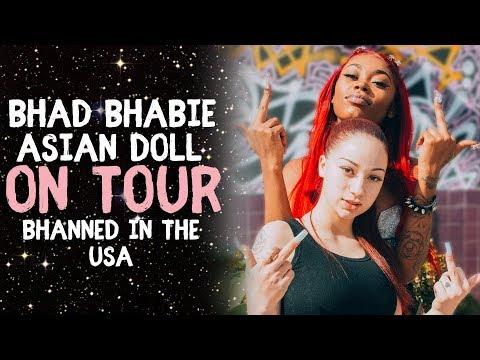 BHAD BHABIE & Asian Doll on Tour Q&A sesh   Danielle Bregoli thumbnail