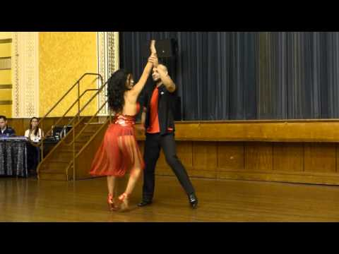2015 Australian Bachata Championship - Pro/Am Freestyle - Jefferson and Romina