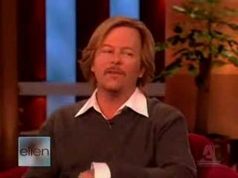 David Spade on Ellen (full) - Part 1