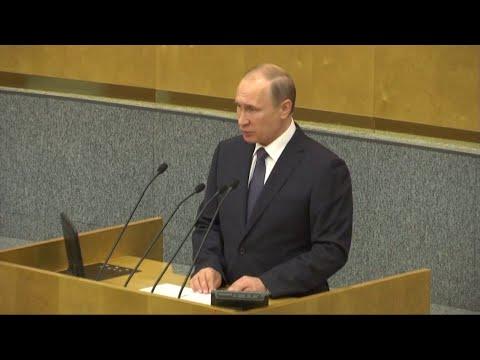 """Truppen in Osteuropa: Putin kündigt Reaktion auf """"aggressive"""" Nato an"""