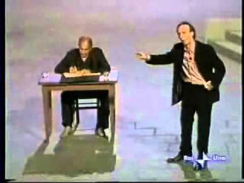 Benigni e Celentano - Lettera a Silvio Berlusconi .. xD