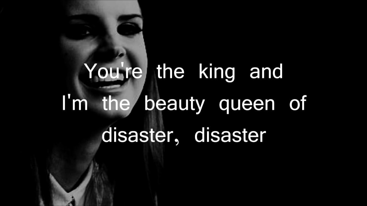 Dark Paradise Lana Del Rey Quotes Lana Del Rey - Queen of
