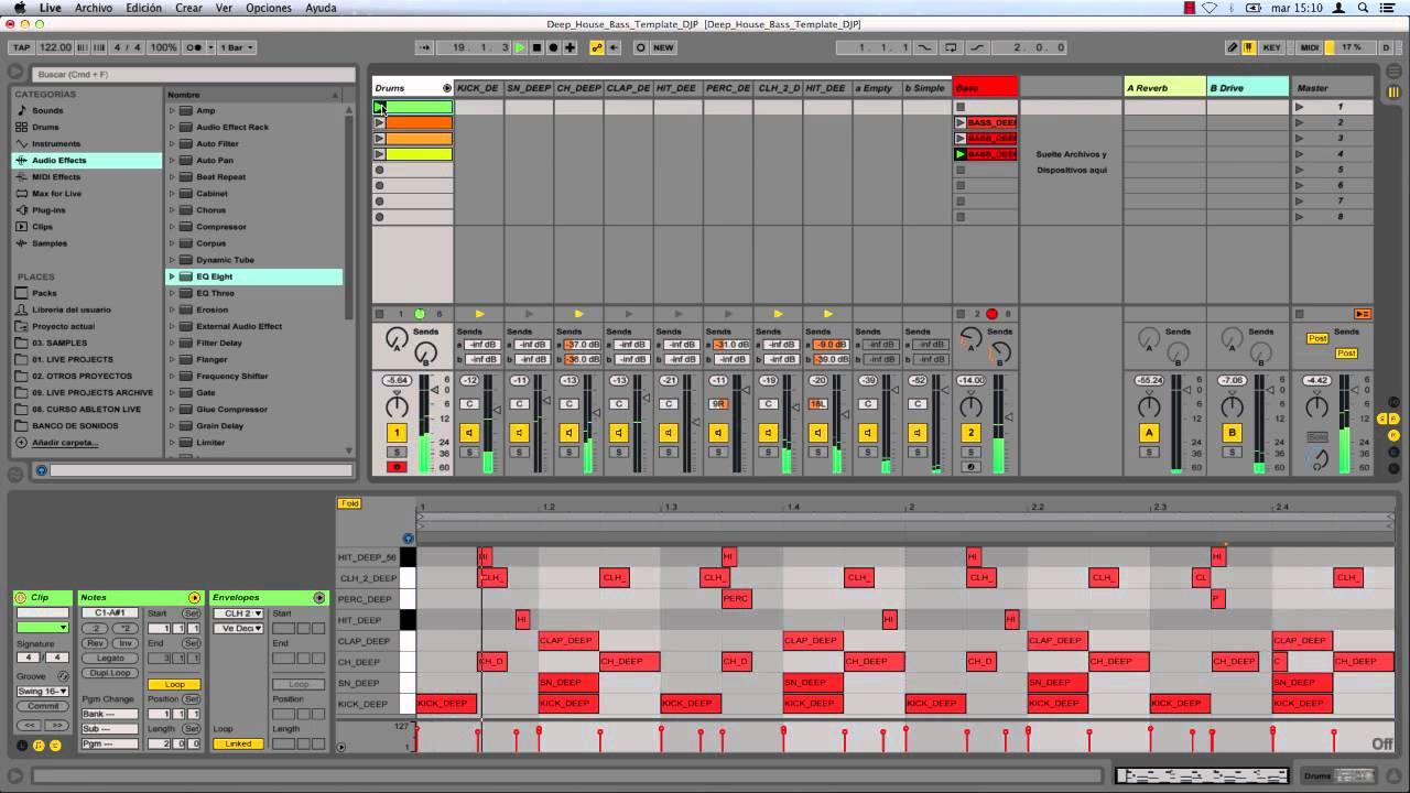 "Teknik Bassline Pattern ""UK's Favorite"" Dalam Musik Deep-House"
