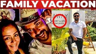 Surya & Jyothika Family Vacation at Maldives! | New Year 2019