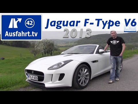 2013 Jaguar F-Type V6 - Probefahrt und erster Test / Review