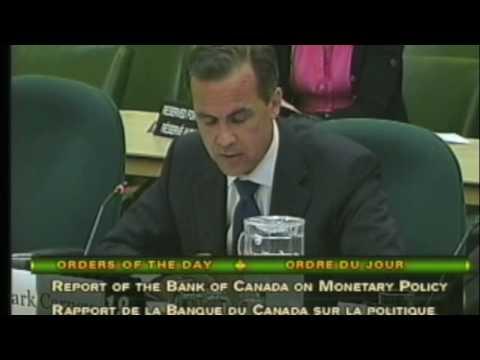 Maxime Bernier au Comité des finances: question à Mark Carney