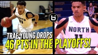 Trae Young Scores 46Pts In The Playoffs! Full Highlights