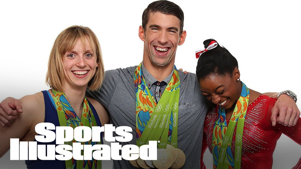 Simone Biles, Michael Phelps, and Katie Ledecky put their medals on display | Sports Illustrated
