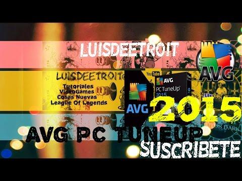 Descargar TuneUp Utilities 2015 Full al Español Con Serial AVG PC TuneUp 2015 en Español
