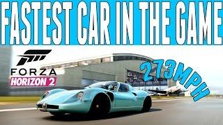 Forza Horizon 2 FASTEST DRAG CAR IN THE GAME Alfa Romeo 33 Stradale (273mph)