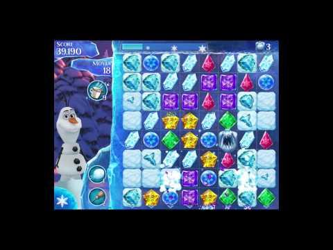 Disney Frozen Free Fall Level 166