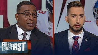 Daniel Jones debut with the Giants was very impressive — Cris Carter | NFL | FIRST THINGS FIRST