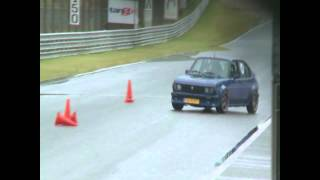 Alfa Romeo Alfasud 16v Slalom and Sprint at Zandvoort club day 2011