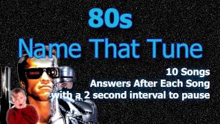 Name That Tune - 80s - Episode 1