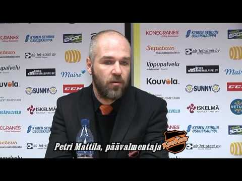 KooKooTV: KooKoo-Jukurit 0-2, 4. finaali, lehdist�tilaisuus 14.4.2015