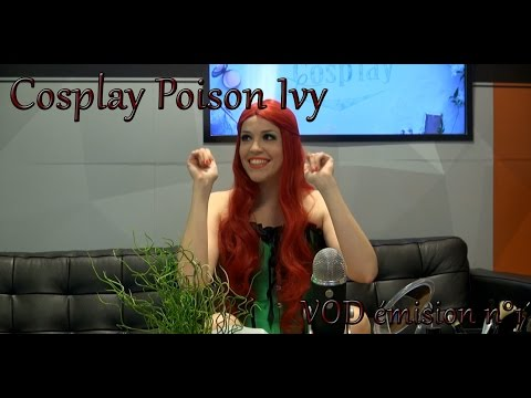 Cosplay Poison Ivy émission Le Cosplay
