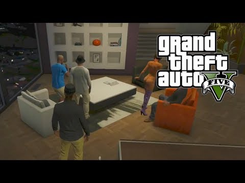 GTA 5 Online: Apartment/Penthouse Tour Guide & Activities (GTA V)