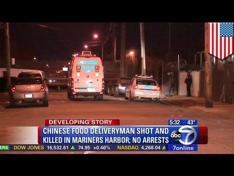 Chinese delivery man, na-ambush at napatay sa Staten Island!