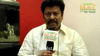 Rajkiran At Sivappu Movie Team Interview
