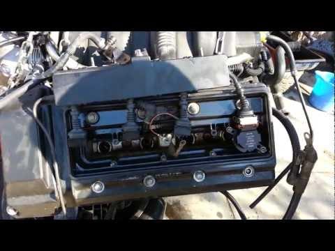 Bmw e39 540i engine spark plug ignition coil replacement e38 740