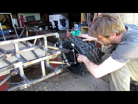 █ Go Kart , Building Front Tires #7 ( The Fullscreen Machine )