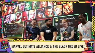 MARVEL ULTIMATE ALLIANCE 3: The Black Order LIVE @ SDCC 2019