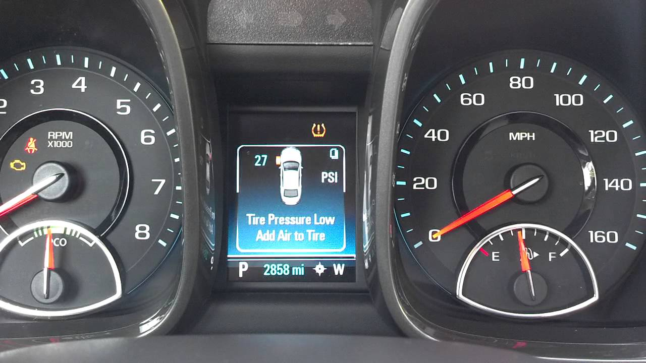 How To Reset Tire Pressure On 2013 Malibu Autos Post