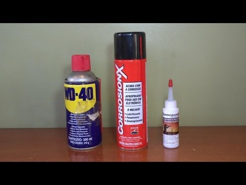 WD 40 vs Corrosionx vs Corrosionx para armas (for guns)